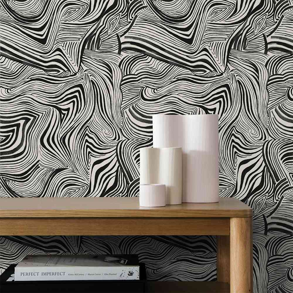 zebra marble wallpaper