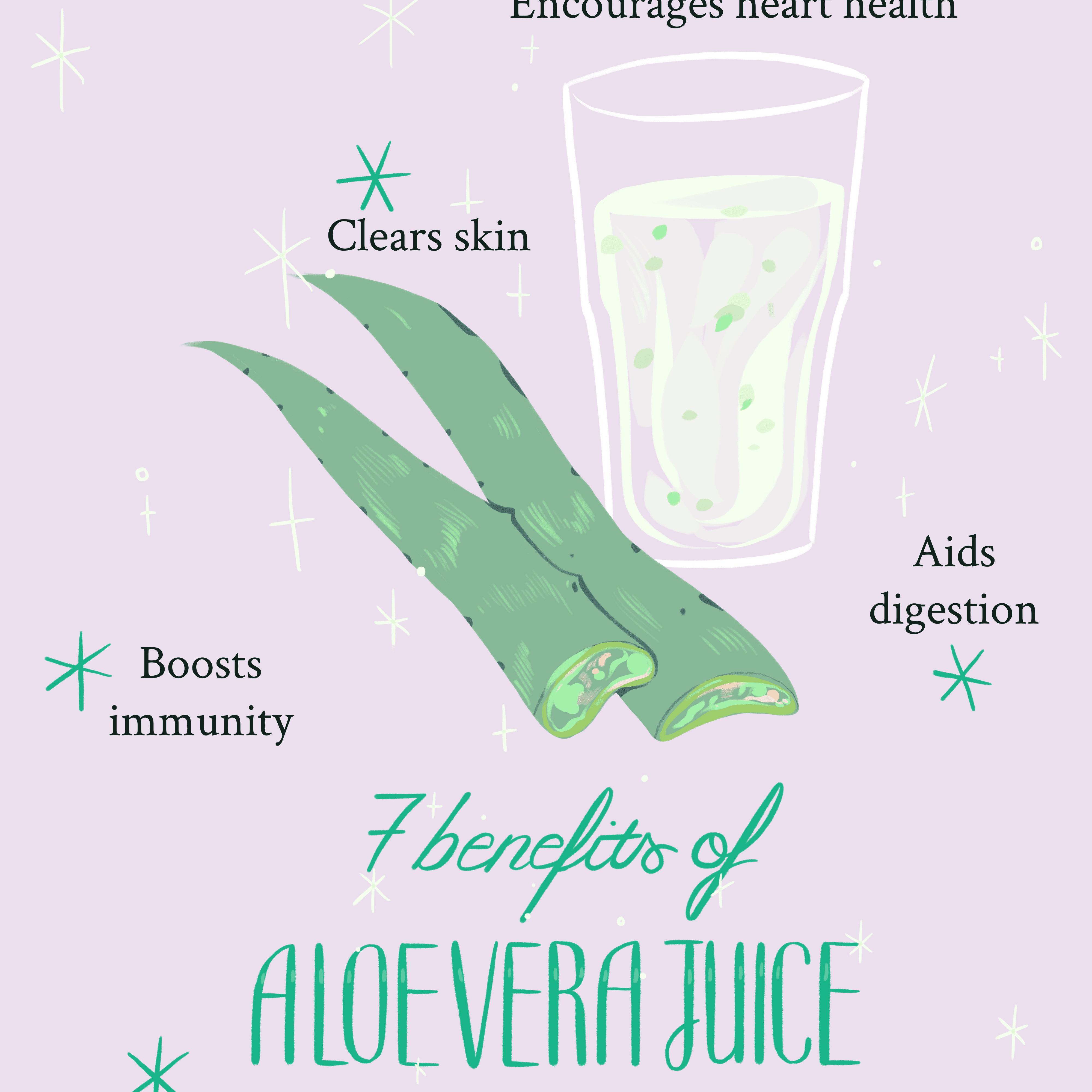 7 aloe vera juice benefits