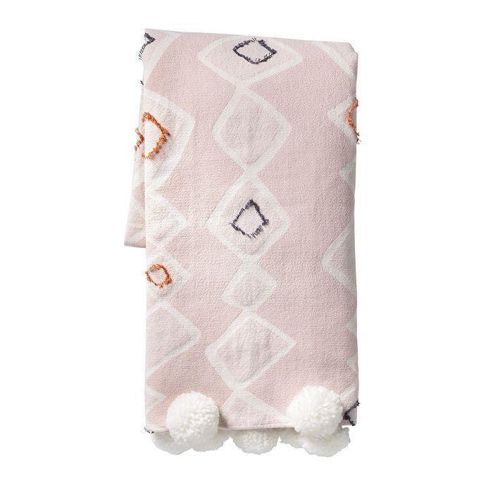 Target Pink Global Throw Blanket