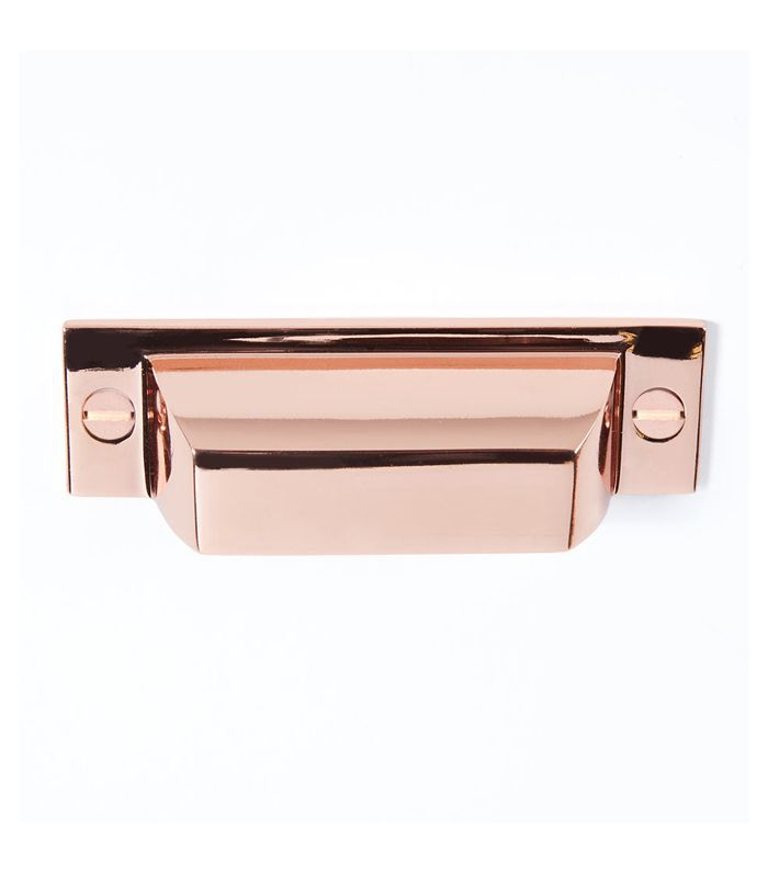 Rejuvenation Copper Mission Bin Pull Outdated Kitchen Trends
