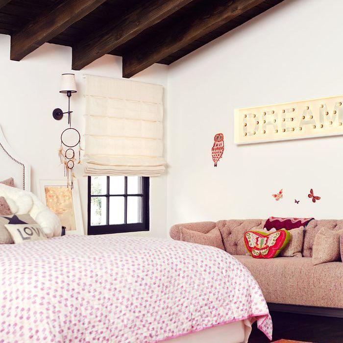 Bedroom from Sasha Alexander's home