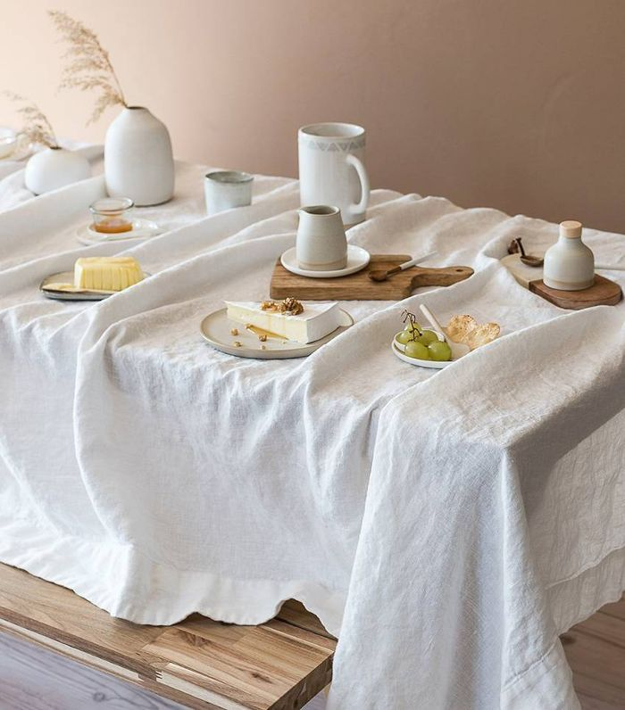 Rough Linen Orkney Linen Tablecloth