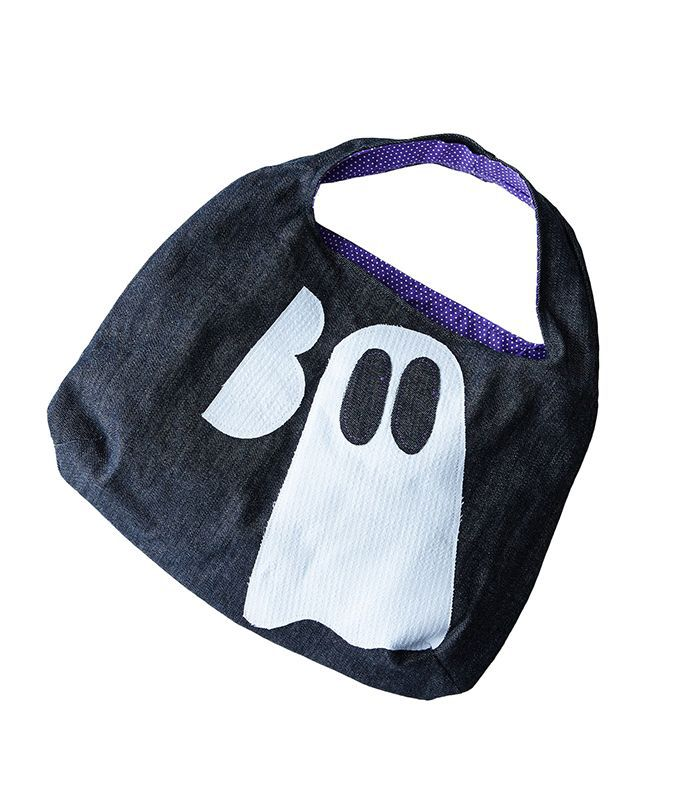 Dot and Army Halloween Trick or Treat Bag