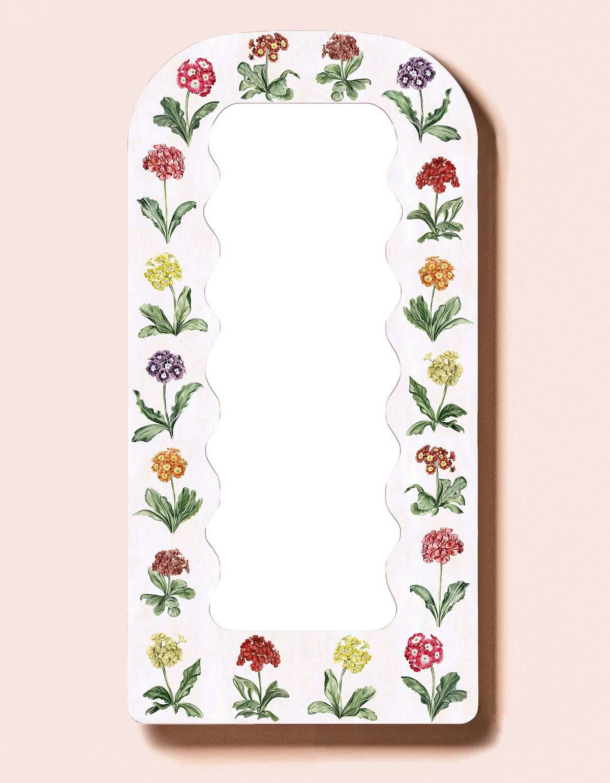 Primrose Print Large Mirror