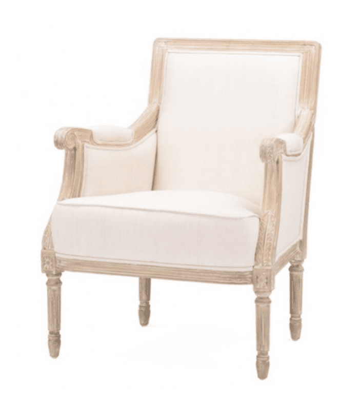Cressida Chair, Light Beige