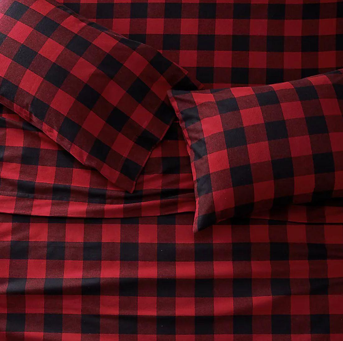Eddie Bauer flannel sheets set