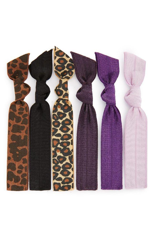 Hair Ties (6-Pack) ($13 Value) (Online Only) (Buy 2