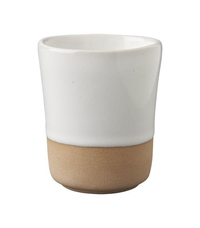 SAIC yunomi white teacup