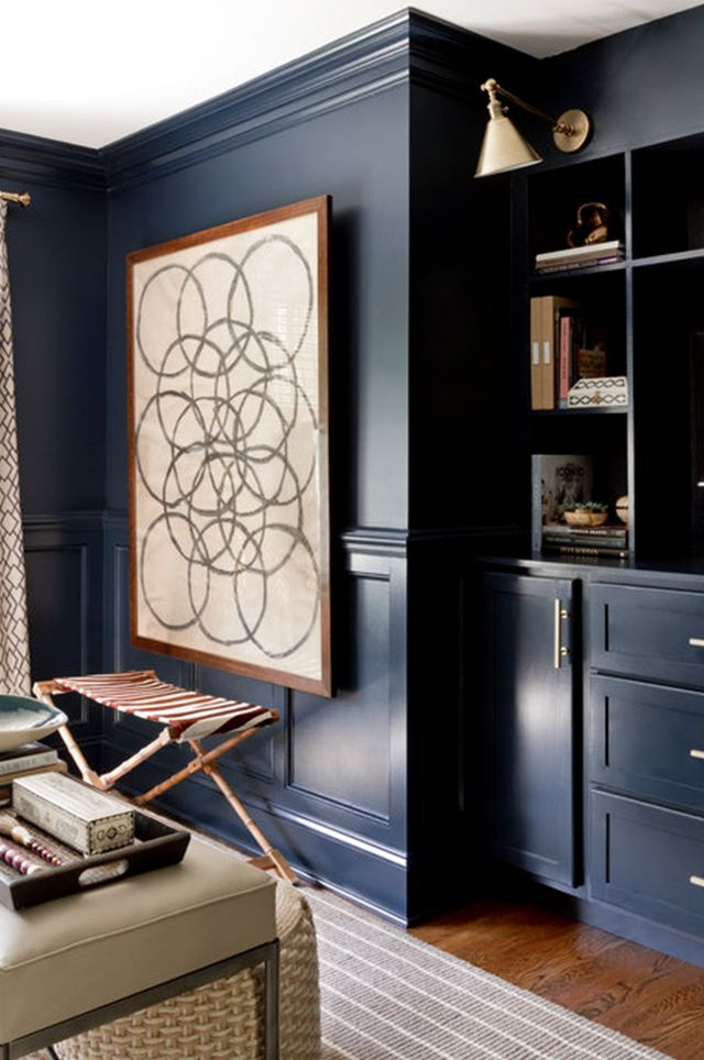 These 9 Navy Paint Color Ideas Are Always In, According to Designers