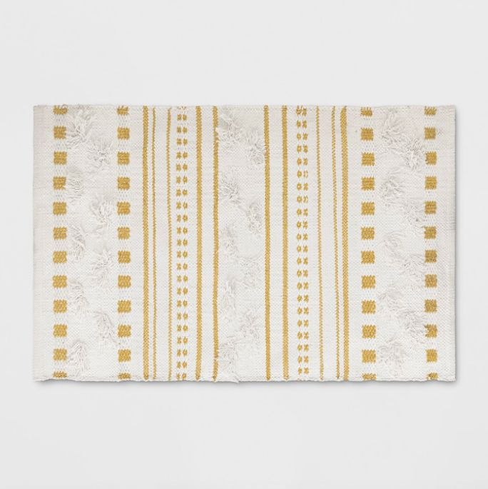 Opalhouse for Target Stripe Woven Accent Rug