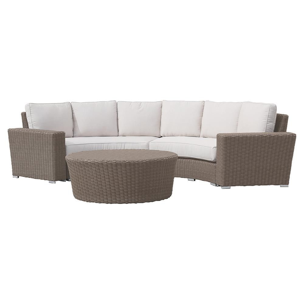 Curved Outdoor Couch