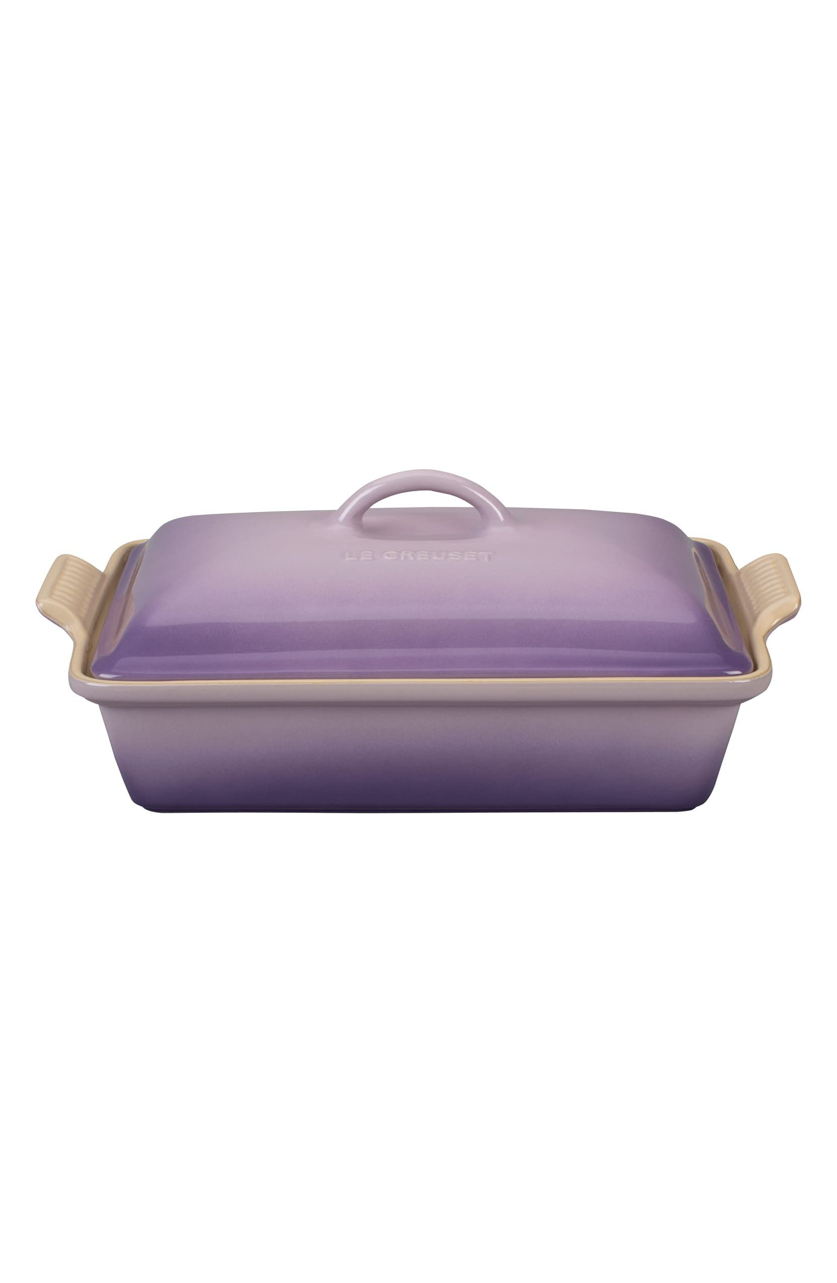 4-Quart Heritage Rectangular Covered Baking Dish