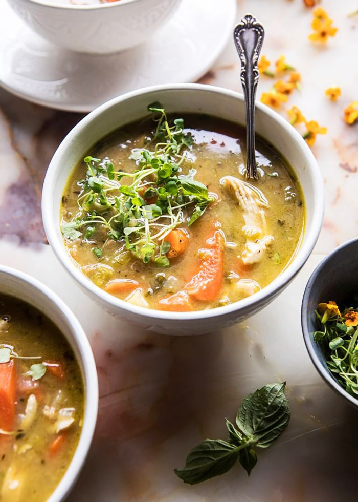 These 12 Chicken Soup Crockpot Recipes Are Perfect for a Busy Day
