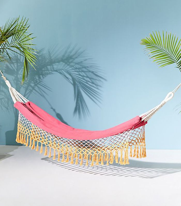 Anthropologie Canyon Fringe Hammock