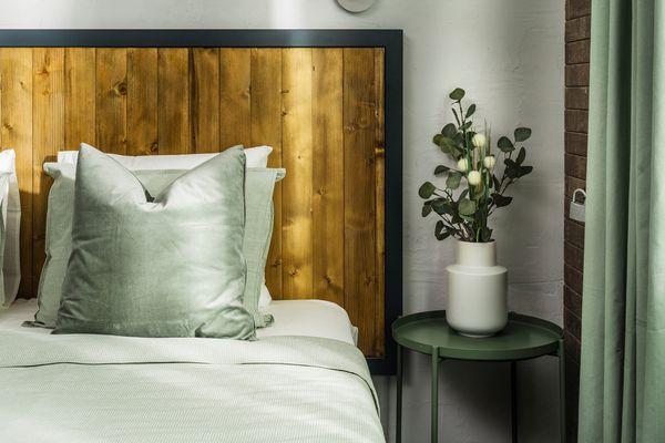 Cozy Bedroom In A Vintage Hostel