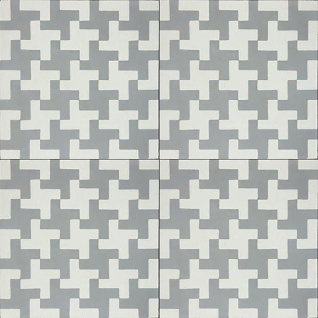 Aberdeen Grey Cement Tile