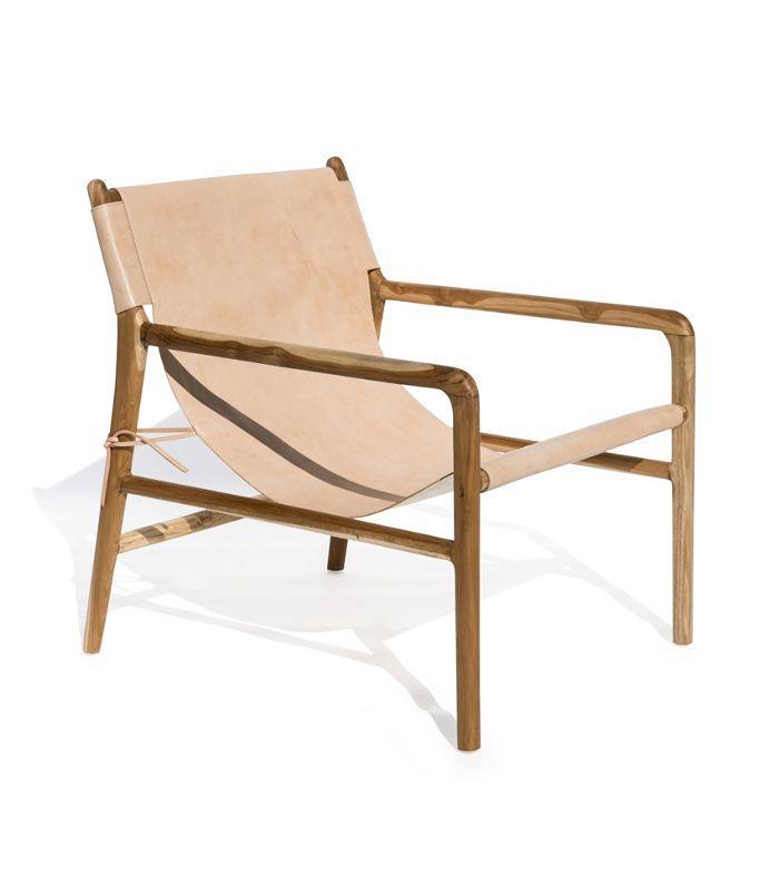 Häti-Häti Leather Lounge Chair
