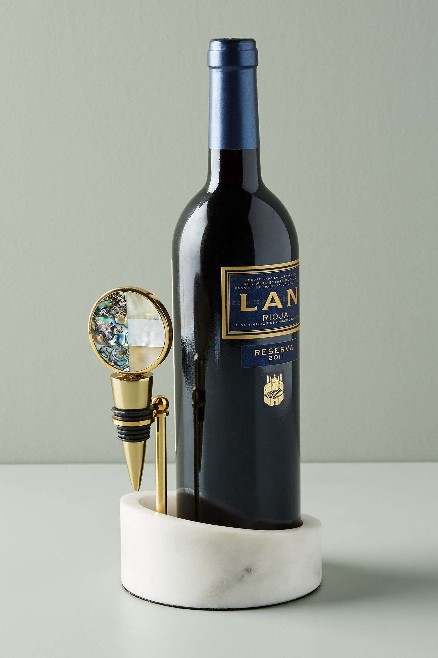 Marble Wine Valet