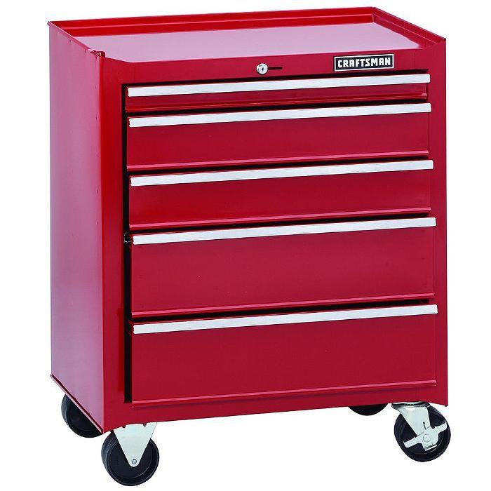 Craftsman 5-Drawer Rolling Tool Cabinet