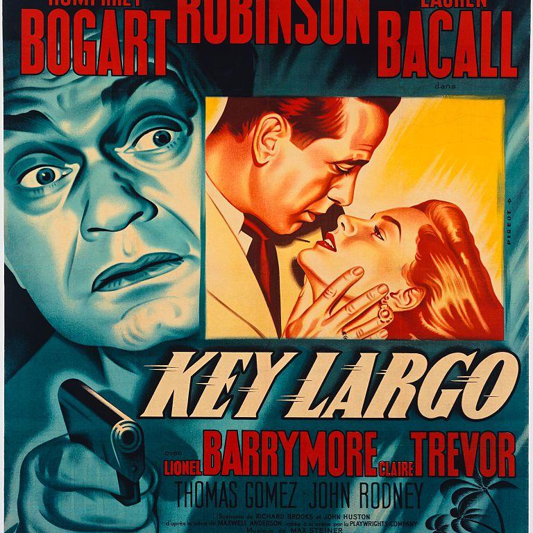 best black and white movies - key largo