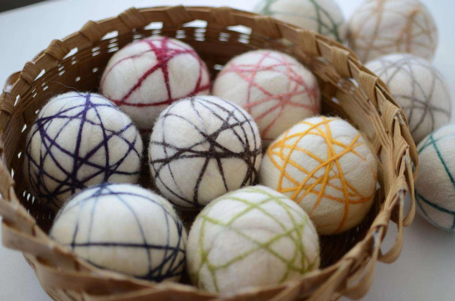 Etsy redheadnblue Premium XL Wool Dryer Ball