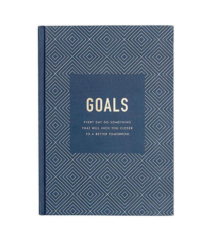Goals Journal Inspiration hardback notebook