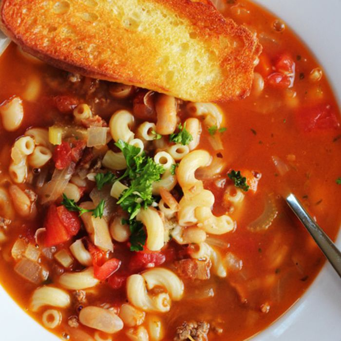 This Classic Italian Soup Recipe Is the Ideal Easy and Hearty Weekday Meal