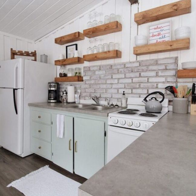 12 Concrete Kitchen Countertops Design Ideas To Try At Home