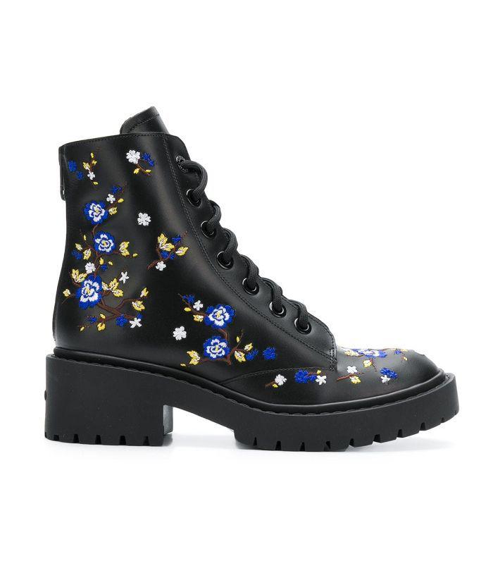Cheongsam flower Pike boots