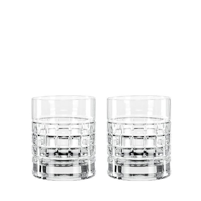 London Double Old Fashioned Glasses, Set of 2