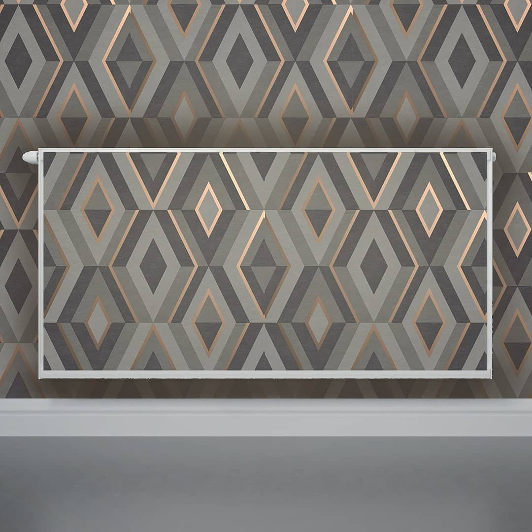 Wallpapered Radiator