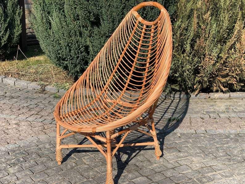 Etsy Wicker Chair