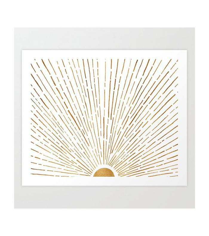Modern Tropical Let The Sunshine in Art Print