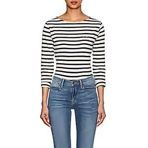 Maison Labiche Babe Striped Cotton T-Shirt