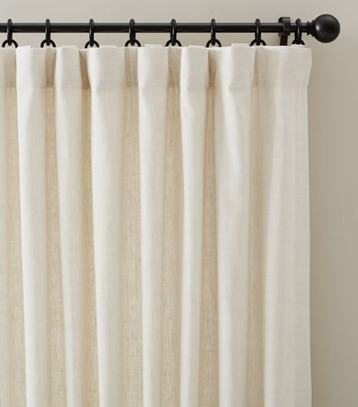 Pottery Barn Emery Linen Drape
