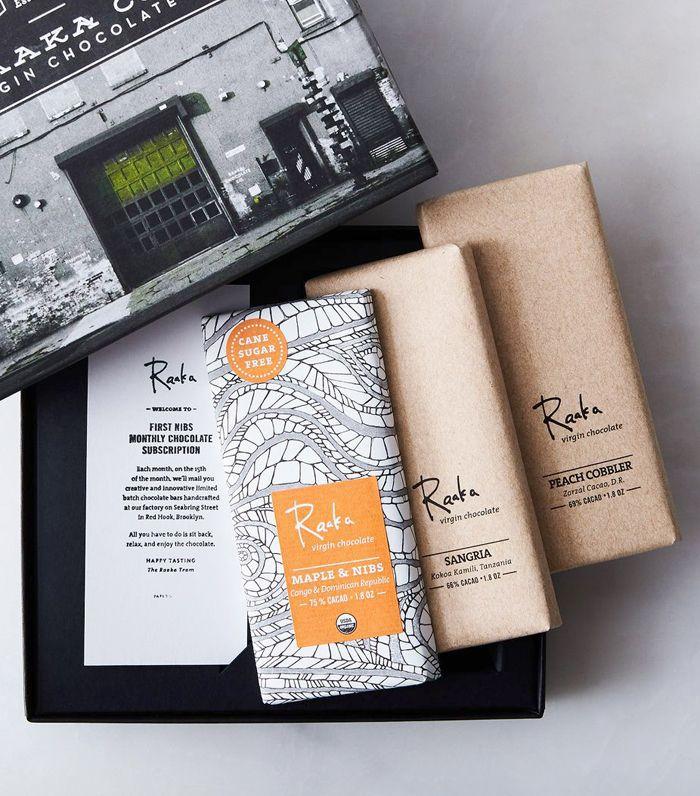 Raaka Chocolate Small-Batch Organic Chocolate Subscription