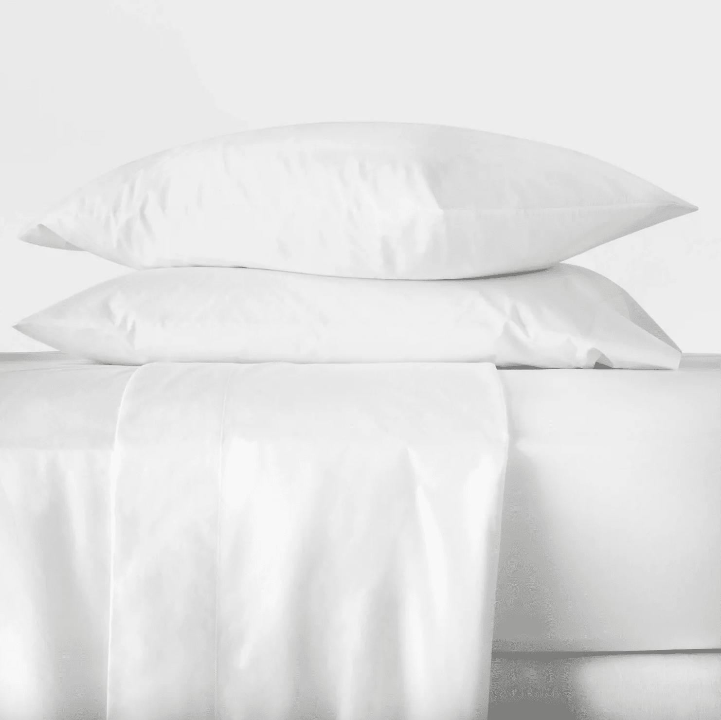 Target - Washed Supima Percale Solid Sheet Set - Casaluna™