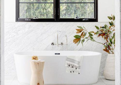 Ideas de baño de mármol