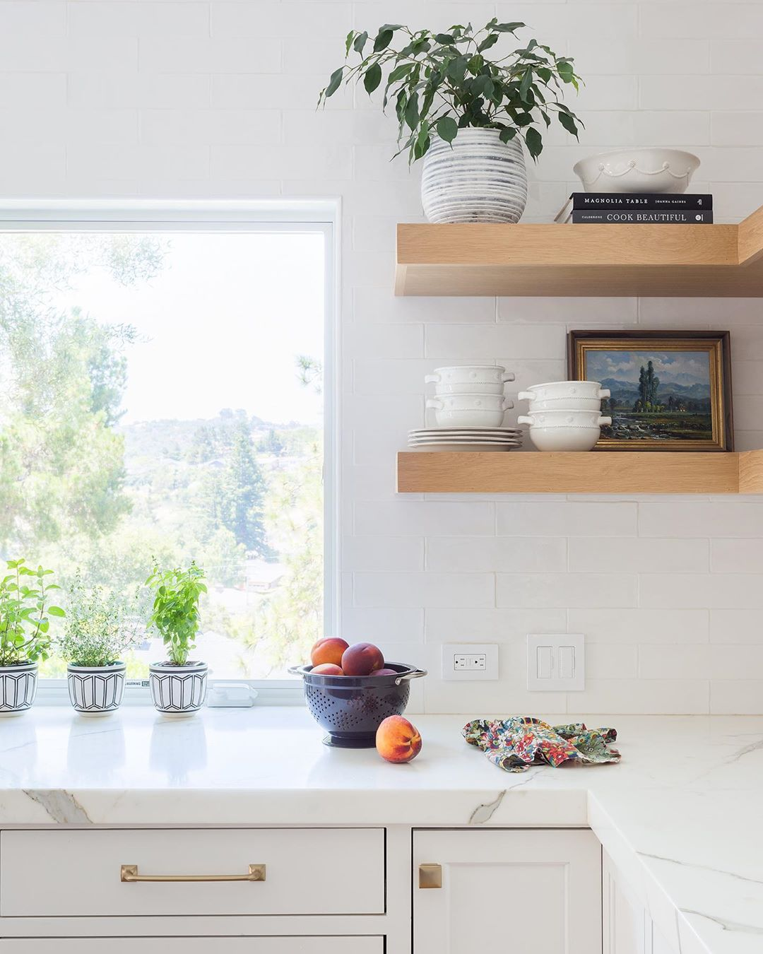 How To Decorate The Top Of Your Kitchen Cabinets
