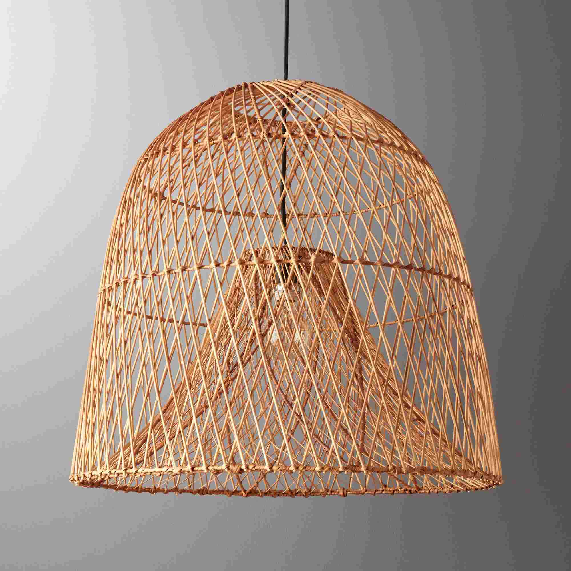 CB2 Nassa Basket Pendant Light
