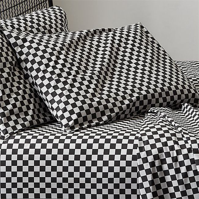 checkered sheet set