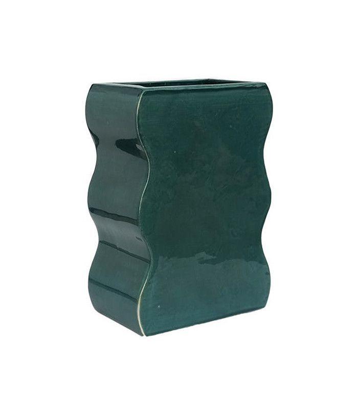 wiggle shape vase — Tictail pottery