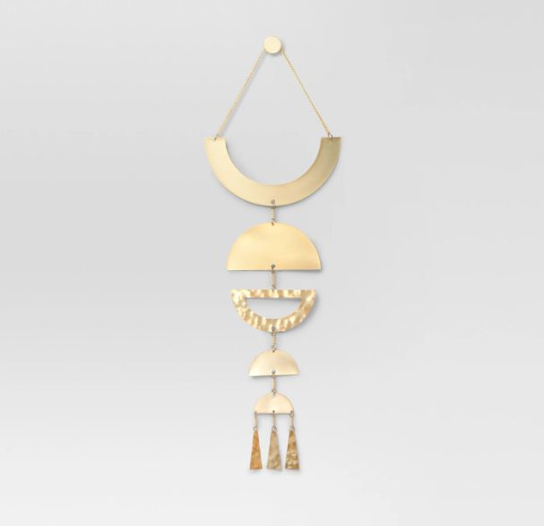 Target Project 62 Wall Hanging Brass