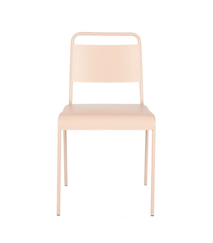 Lucinda Dusty Pink Stacking Chair