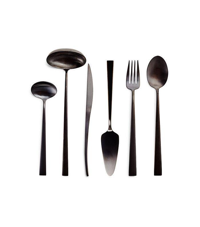 Duna by Cutipol Matte Black Serveware