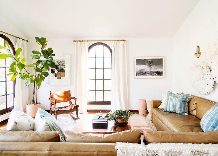 a Cali-Cool living room