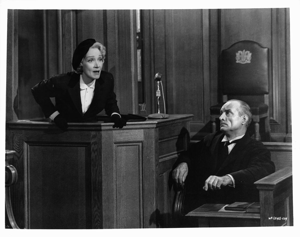 best black and white movies - witness for the prosecution