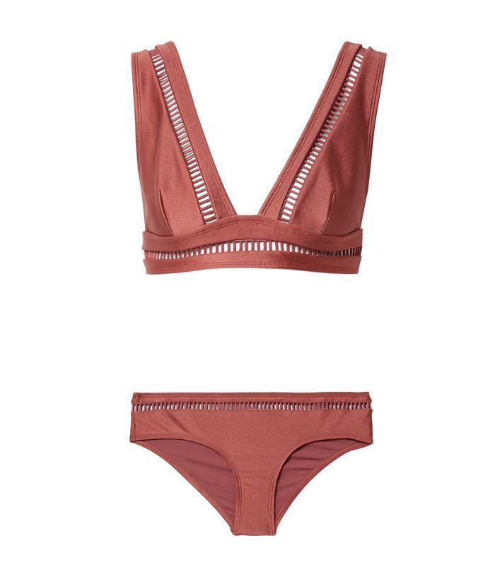 Corsair Lattice-trimmed Bikini