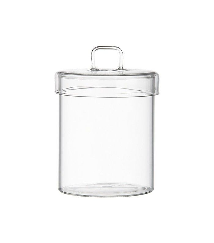 CB2 Pincher Glass Canister