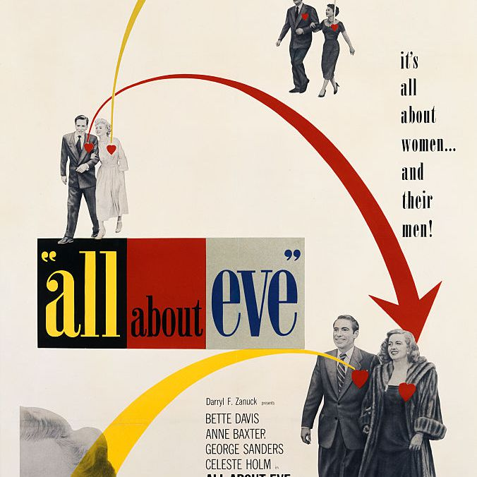 best black and white movies - all about eve movie poster